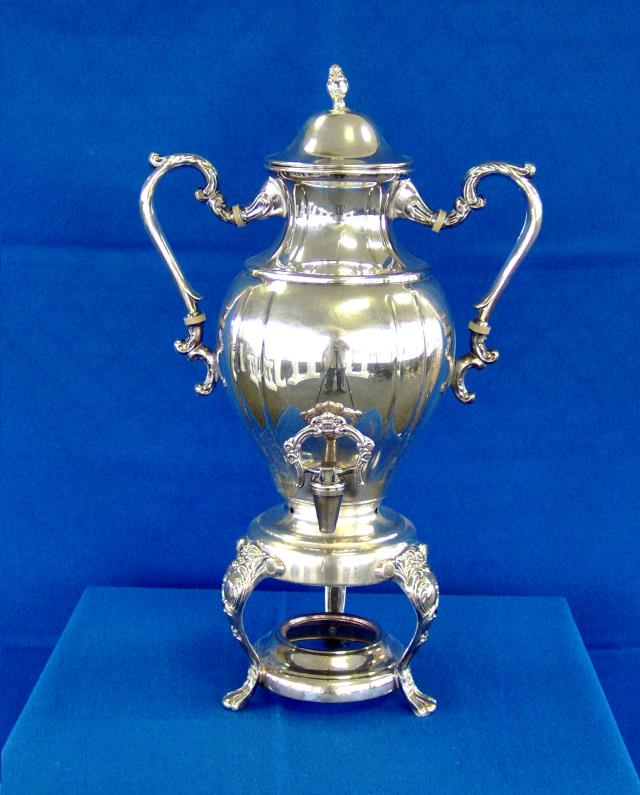 Where to find COFFEE URN, SILVER 25C in Roanoke