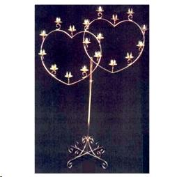 Where to find CNDLBRA, BRASS 18 LITE DOUBLE HEART in Roanoke