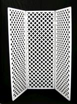 Where to find SCREEN, ROOM DIVIDER WH LATTICE in Roanoke