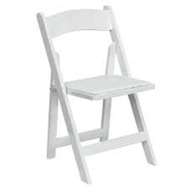 Where to find CHAIR, WHITE PADDED in Roanoke