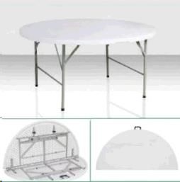 Where to find TABLE, 5  RD FOLDING PLASTIC in Roanoke