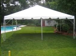Where to find TENT, FRAME 20X20 WHITE in Roanoke