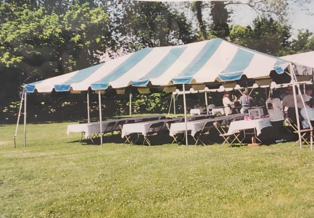 Tent Frame 20x30 B W Rentals Roanoke Va Where To Rent