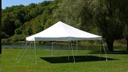 Where to find TENT, POLE 20X20 WHITE-SET UP ADDITIONAL in Roanoke