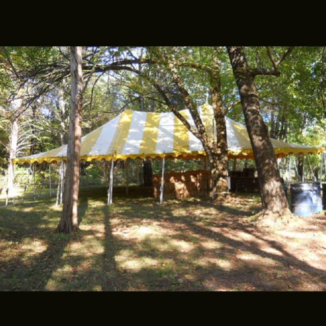 Where to find TENT, POLE 20X30 Y W in Roanoke