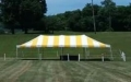 Rental store for TENT, POLE 20X40 Y W in Roanoke VA
