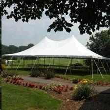 Where to find TENT, POLE 30X45 WHITE 1 PIECE in Roanoke
