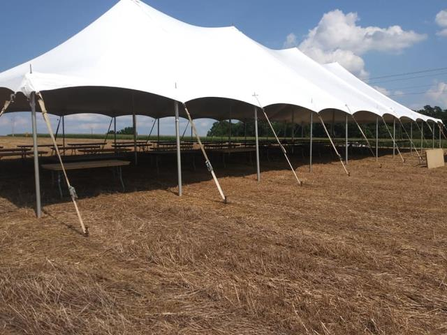 Where to find TENT, POLE 40X100 WHITE EPIC in Roanoke