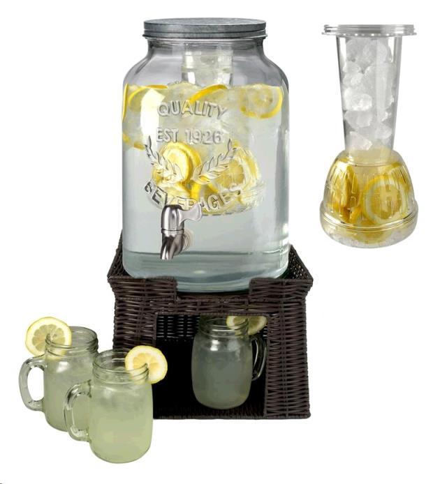 Mason Jar Beverage Dispenser 3 Gal Rentals Roanoke Va