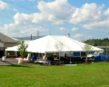 Rental store for TENT, FRAME 30X90 WHITE ULTRA HEAVY in Roanoke VA