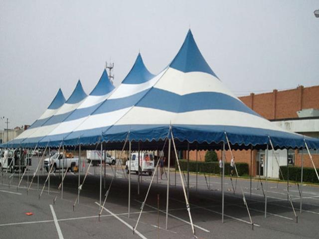 Tent Pole 40x120 B W Aztec Rentals Roanoke Va Where To