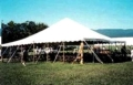 Rental store for TENT, POLE 40X40 WHITE AZTEC in Roanoke VA