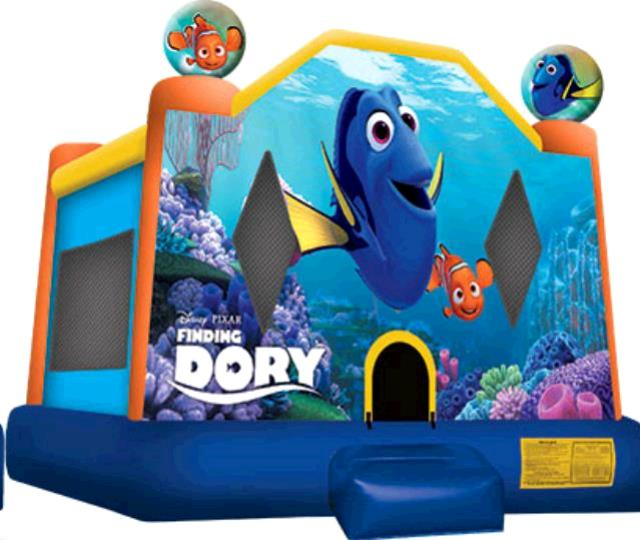 Where to find BOUNCER, FINDING DORY in Roanoke