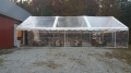 Rental store for TENT, FRAME 30X60 CLEAR AZTEC GABLE ENDS in Roanoke VA