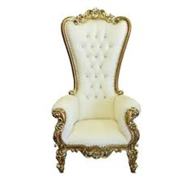 Where to find CHAIR, WHITE THRONE in Roanoke