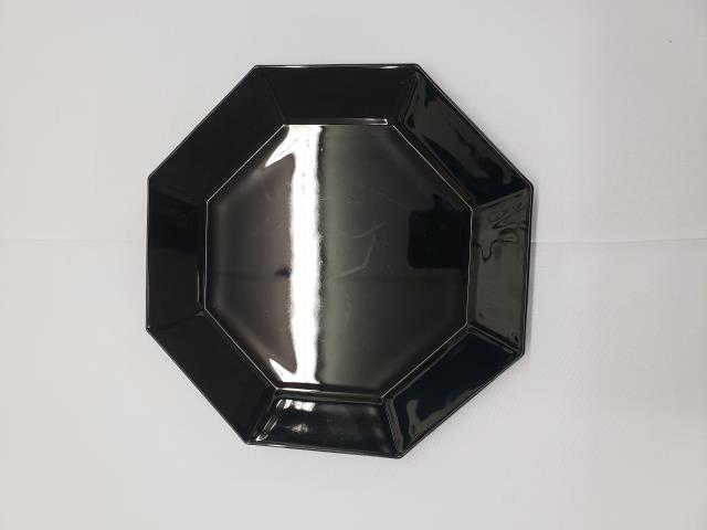 Where to find PLATE, 8.5  BLACK OCTAGON in Roanoke