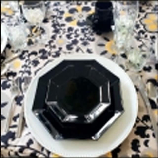 Where to find CHINA- BLACK OCTAGONAL in Roanoke
