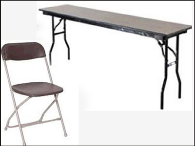 Rent tables and chairs in Roanoke VA