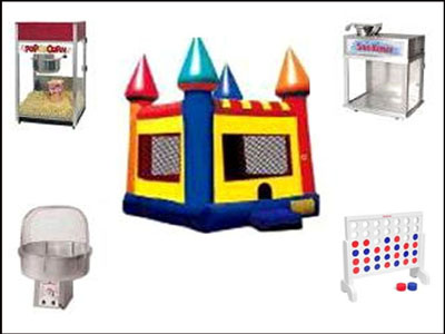 Rent Game & Concession Equipment in Roanoke VA