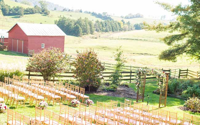 Event rentals in Salem, Blacksburg, Lynchburg & Smith Mt. Lake VA